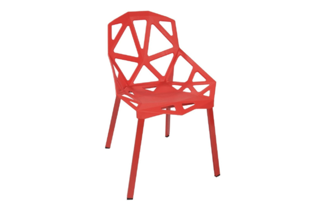 One Cafe Chair Red