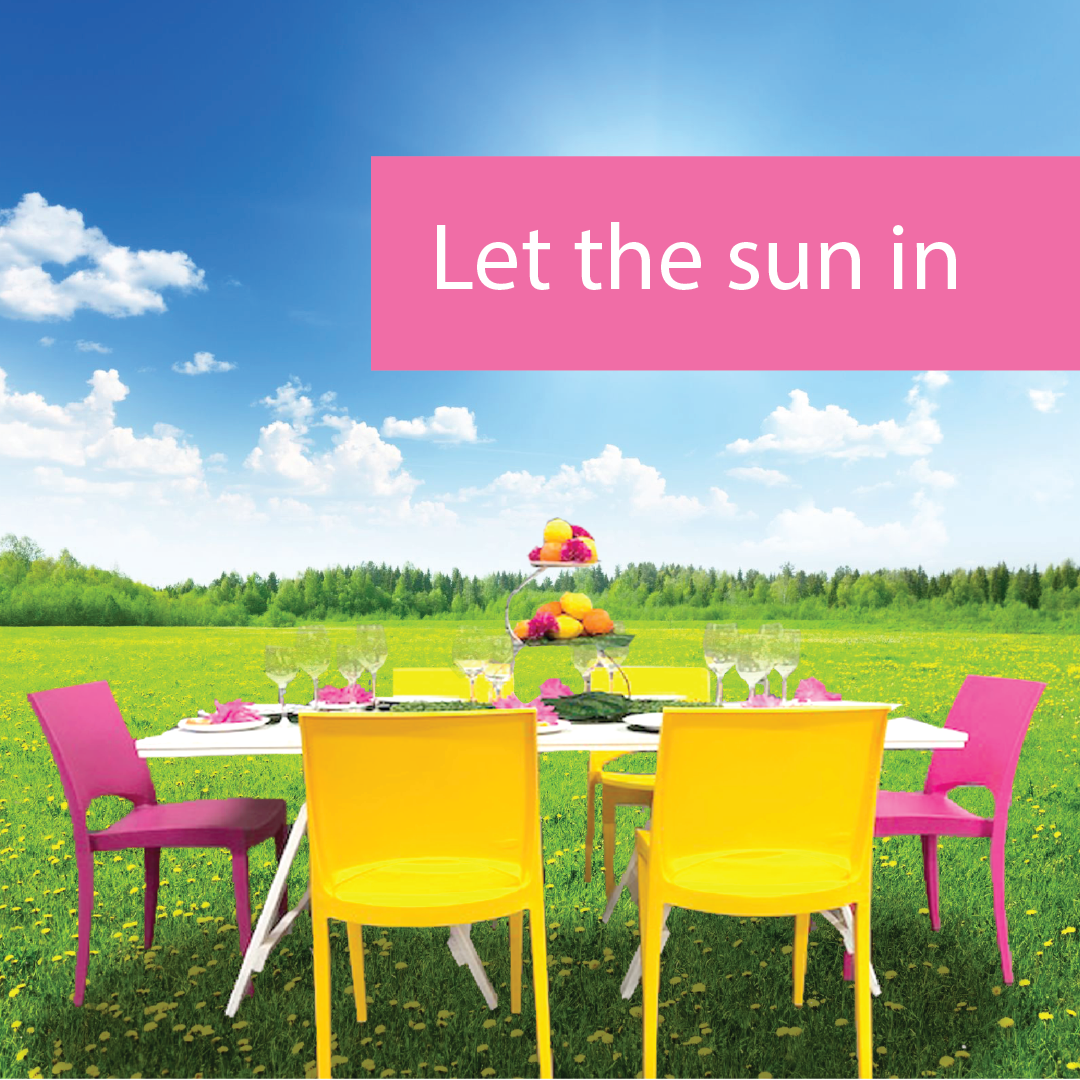 Bloom! Let the Sun in! - Spring Event Furniture