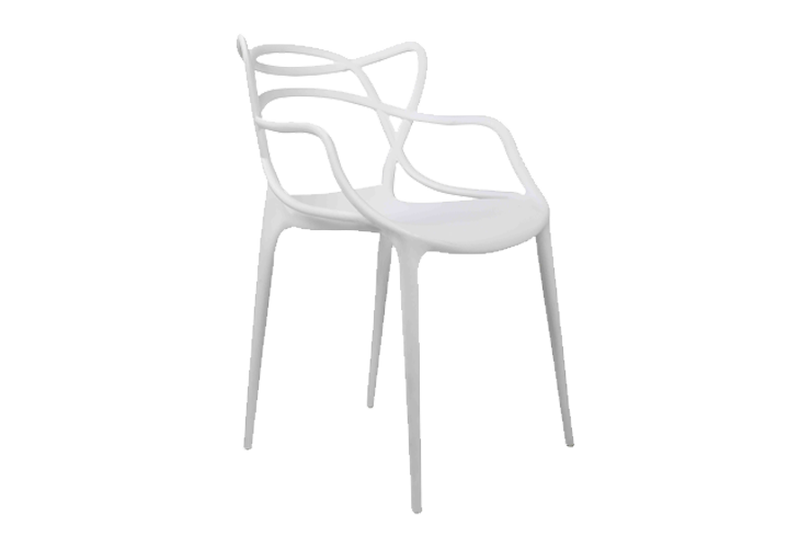 We've Got the Look - Spring Garden Party - Twist Cafe Chair White - Themed Events