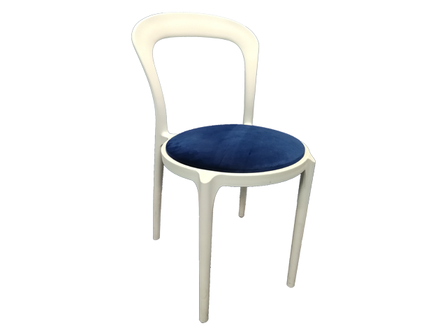 Melrose Cafe Chair - Pantone Colour of the Year 2020 - Classic Blue