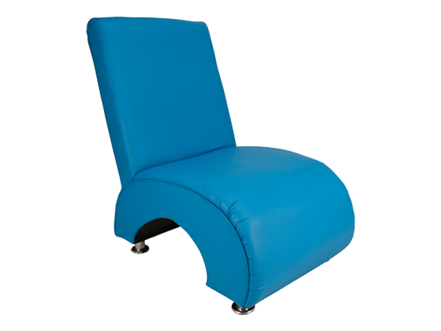 Question Mark Single Lounger - Pantone Colour of the Year 2020 - Classic Blue