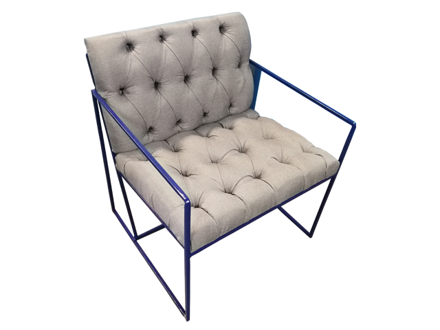 Scarlett Single Lounger - Pantone Colour of the Year 2020 - Classic Blue