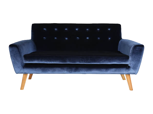 Sexton Double Seater - Pantone Colour of the Year 2020 - Classic Blue