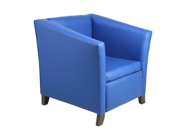 Tub Single Seater - Pantone Colour of the Year 2020 - Classic Blue