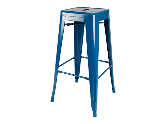 Xavier Barstool - Pantone Colour of the Year 2020 - Classic Blue